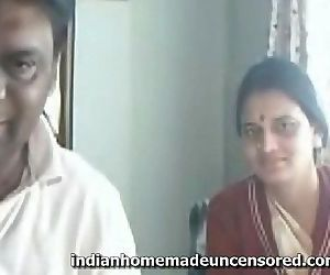 Honey Indian Couple At Home..