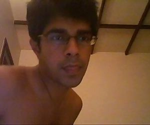 indian college boy shows off..