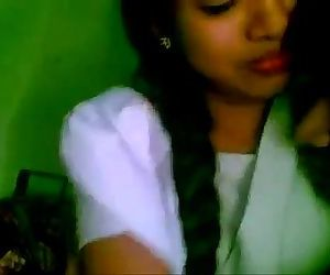 Shy indian school girl - 4 min
